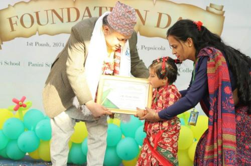 Foundation Day celebration at Panini School Kathmandu