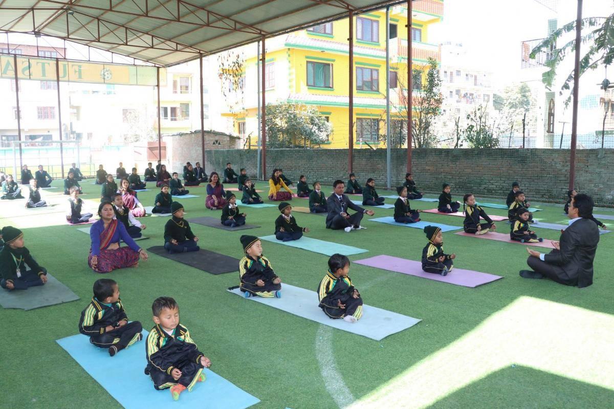 Yoga at Panini